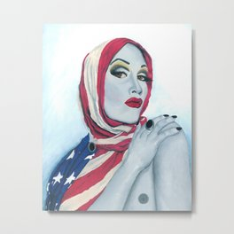 American Ladyboy Metal Print