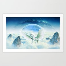Horse Fly Art Print