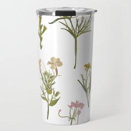 Pressed Flowers Travel Mug