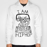 hiphop Hoodies featuring I AM HIPHOP  by Geryes