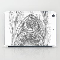 gothic iPad Cases featuring gothic by Tereza Del Pilar