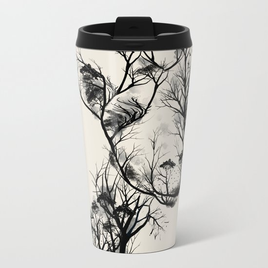 Wildlife Metal Travel Mug