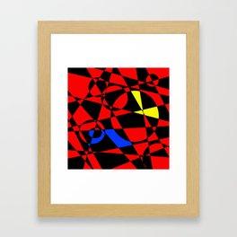 Red Psyche Framed Art Print