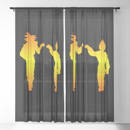 Brothers Sheer Curtain