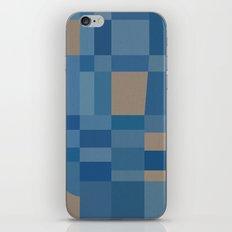 Palm Springs Blue iPhone Skin