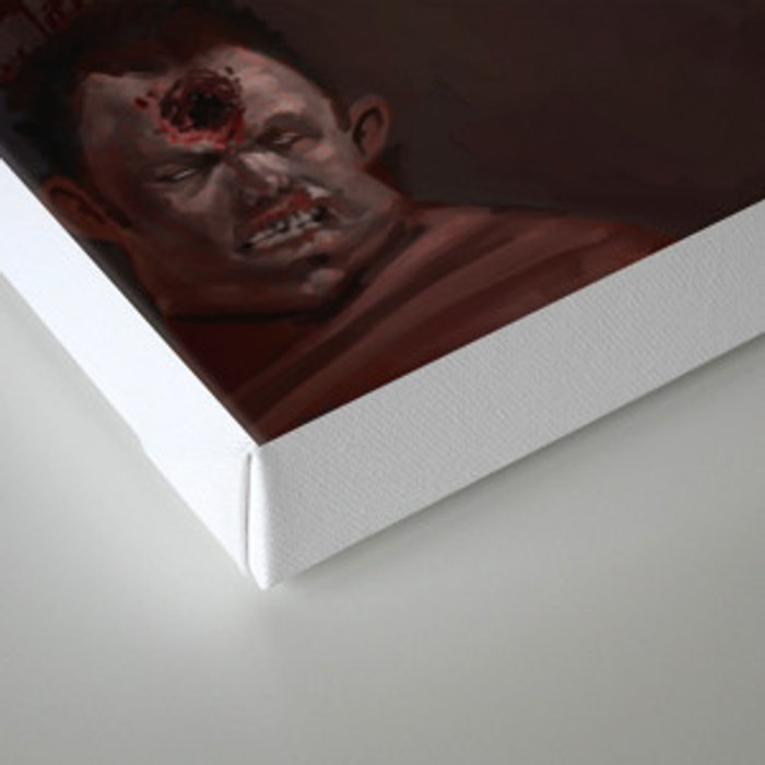 Bambi the Zombie Slayer Canvas Print