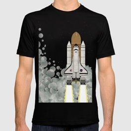Space Shuttle NASA Launch T-shirt