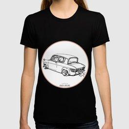Crazy Car Art 0101 T-shirt