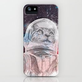 Space_Cat iPhone Case
