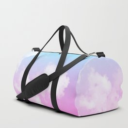 Pink Summer Clouds Duffle Bag