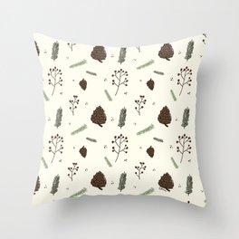Christmas Nature  Throw Pillow