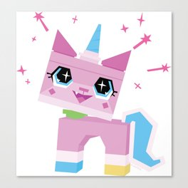 Unikitty Canvas Print