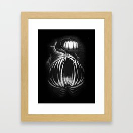 Under The Lampshade Framed Art Print
