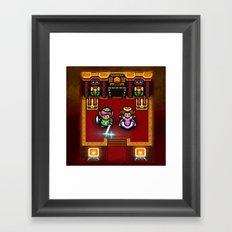 Zelda Sanctuary Framed Art Print