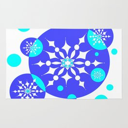 A Delightful Winter Snow Design Rug