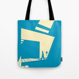 Daylight diagonal Tote Bag