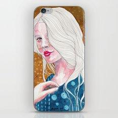 Magnolia, watercolor iPhone & iPod Skin