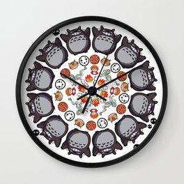 STUDIO GHIBLI MANDALA Wall Clock