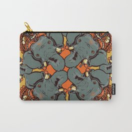 Gnesha Pattern Carry-All Pouch