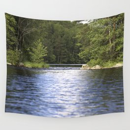 Relaxing View To The Lake Wall Tapestry