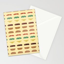 Build a Burger Stationery Cards