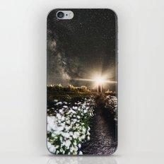 Galactic Lighthouse iPhone & iPod Skin