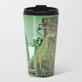 Old Bottles Travel Mug