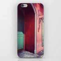 door iPhone & iPod Skins featuring Door by wendygray