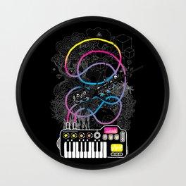 Music Coaster Wall Clock