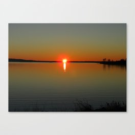 Pregnant Pause of a Downeast Evening Canvas Print