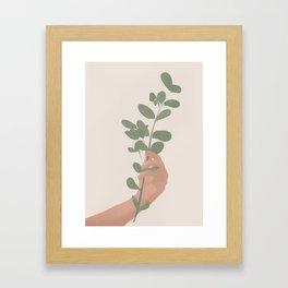 Tree Branch Framed Art Print