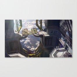Sci-fi Factory Canvas Print