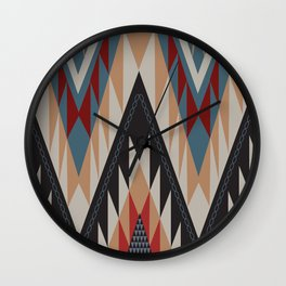American Native Pattern No. 11 Wall Clock