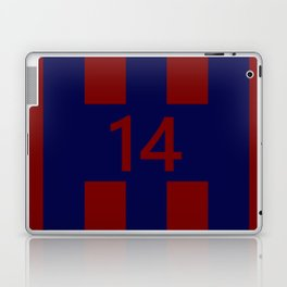 Legendary No. 14 in red and blue Laptop & iPad Skin