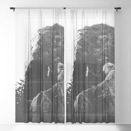 Skull Rock Temescal Canyon Washi S Sheer Curtain