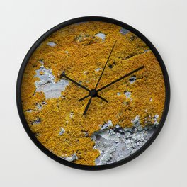 Yellow liches Wall Clock