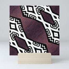 Purple Shimmer Mini Art Print