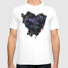 LOVERS MEDIUM Mens Fitted Tee White