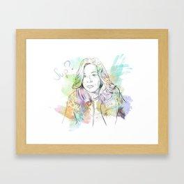 """""""Sup?"""" Framed Art Print"""