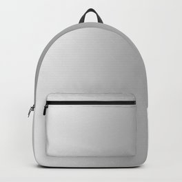White to Gray Vertical Bilinear Gradient Backpack