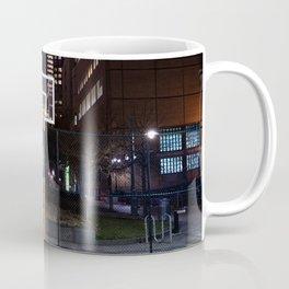 Basketball court New York City Coffee Mug