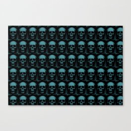 Specter and Spook's Skull Menagerie Canvas Print