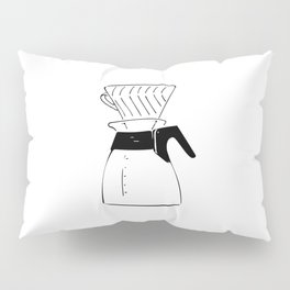 Coffee Tools: Pour-over Coffee Pot Pillow Sham