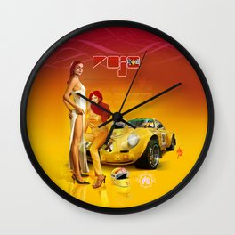 ROJO (DRIVERS) · Renault Alpine Wall Clock