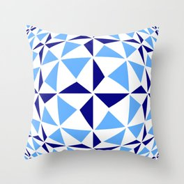 Tribute to Vasarely 8 -visual illusion- Throw Pillow