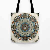 grace Tote Bags featuring Grace by Mr. Pattern Man