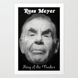 Russ Meyer Tribute Poster Art Print