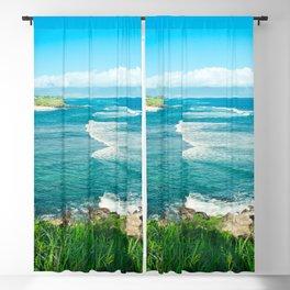 Hookipa Beach Paia Maui Hawaii Blackout Curtain