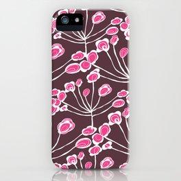 Floral Sprigs iPhone Case