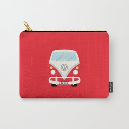 Surf's Up Minimal Bus Carry-All Pouch